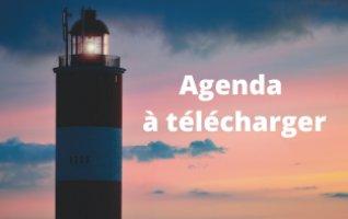Agenda de la semaine à télécharger