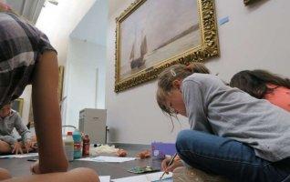 """Atelier du musée – """"La peinture Marine"""""""