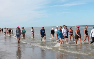 Marche dans l'eau