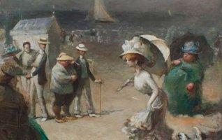 Eugène Trigoulet « La rêverie du poète, l'inspiration du peintre »