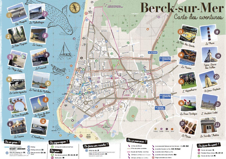 berck sur mer carte Our brochures   Office de Tourisme de Berck sur Mer en Côte d'Opale